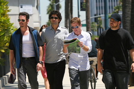 The Entourage boys.