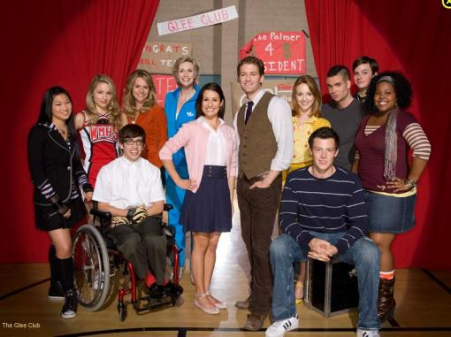 Glee: what this show will be filling me with Wednesday nights at 9 in the fall.
